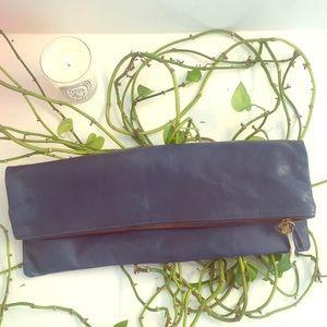 PRICE DROP! Clare Vivier Leather Oversize Clutch